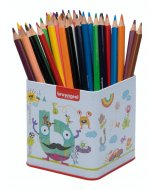 Set 48 creioane colorate Bruynzeel Color Triple Pencile