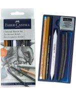 Set desen Faber Castell Charkoal Sketch