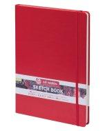 Art Creation Sketch Book Red