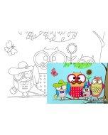 Carton panzat cu desen 20 x 30  cm - Cartoons 27