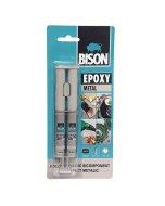 Adeziv bicomponent Bison Epoxy Metal