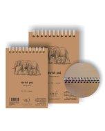 Bloc desen Sketch pads Authentic Brown 135gr