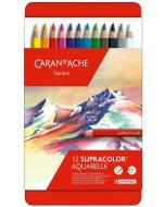 Set creioane colorate Supracolor Soft Aquarelle 12