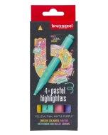 Set evidentiatoare Highlighter Pastel 4