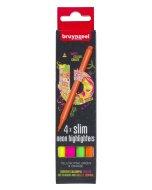 Set evidentiatoare Highlighter Slim 4