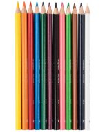 Creioane colorate Bruynzeel Triple