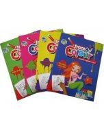 Carti de colorat - Traseaza si coloreaza (hartie)