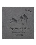 Bloc desen Brown Sketch Album 14 x 14 cm