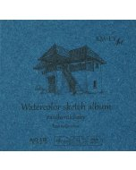 Caiet de desen Authentic Baby Watercolour Album 9 x 9 cm