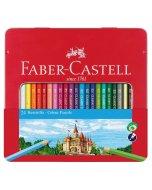 Set creioane colorate Faber Castell Classic 24