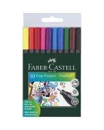 Set linere Faber-Castell Grip 0.4 mm 10