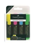 Set markere Textliner Faber-Castell 4