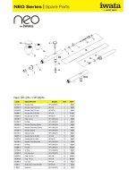 Accesorii aerografe Iwata Neo