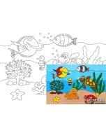 Carton panzat cu desen 20 x 30  cm - Cartoons 26