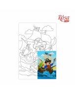 Carton panzat cu desen 20 x 30  cm - Cartoons 31
