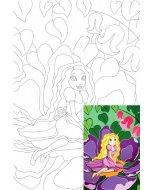 Carton panzat cu desen 20 x 30  cm - Thumbelina