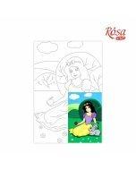 Carton panzat cu desen 20 x 30  cm - Snow White