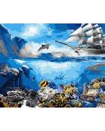 Pictura pe numere - Water world