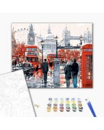 Pictura pe numere - The charm of London
