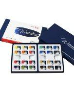 Set 24 acuarele Rosa Gallery Classic in cutie din carton