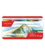Set creioane colorate Caran d'Ache Pablo 80