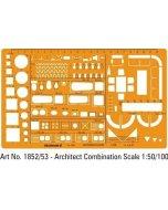 Sablon Architect Combination 1:200 1854