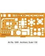 Sablon Architect Combination 1:50 1849M