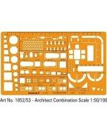 Sablon Architect Combination 1:50 1852