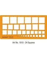 Sablon ISOMARS Squares 1810M