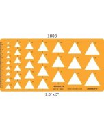 Sablon ISOMARS Triangular 1808M