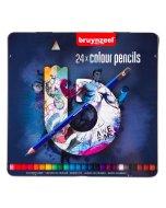 Set creioane colorate Briynzeel Dark 24
