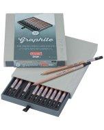 Set 12 creioane Bruynzeel Design Graphite Pencil Box