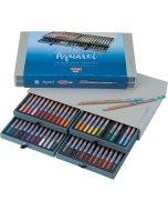 Seturi creioane Bruynzeel Design Watercolor Box 48 creioane