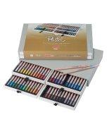 Seturi creioane colorate Bruynzeel Design Pastel Box