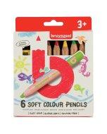 Set creioane colorate Soft 6