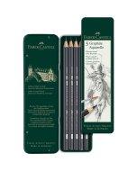 Set 5 creioane Faber-Castell Graphite Aquarelle