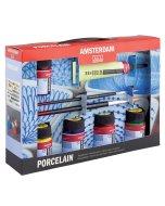 Set culori ceramica Amsterdam Porcelain Starter Set