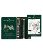 Set Faber Castell Pitt Monochrome Graphite 11 buc