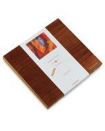 Set 120 pasteluri grase Sennelier in caseta din lemn