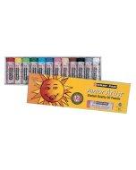 Set pastel gras Jumbo Cray Pas Juniro Artist 12