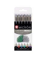 Set Pigma Micron 01 Basic Colors Wallet 6