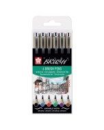 Set Pigma Brush Wallet 6