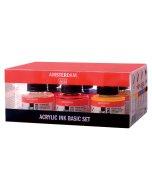 Set tus acrilic Amsterdam Acrylic Ink Basic Set