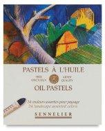 Set 24 pasteluri grase Sennelier Landscape