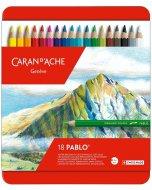 Set creioane colorate Pablo 18