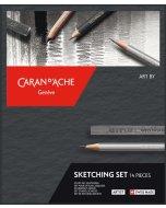Set de desen Caran d'Ache Sketching 14