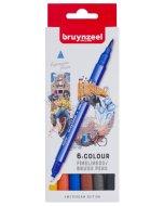 Set carioci Fineliner Brush pen Amsterdam 6