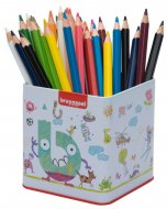 Set creioane colorate Mega Pencils 48