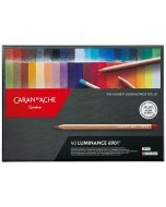 Set creioane colorate Caran d'Ache Luminance 40