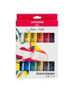 Set culori acrilice Amsterdam 20 ml x 12